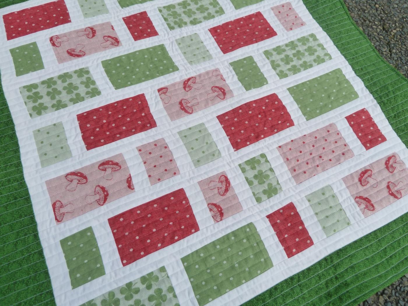 Wrap scrap quilt