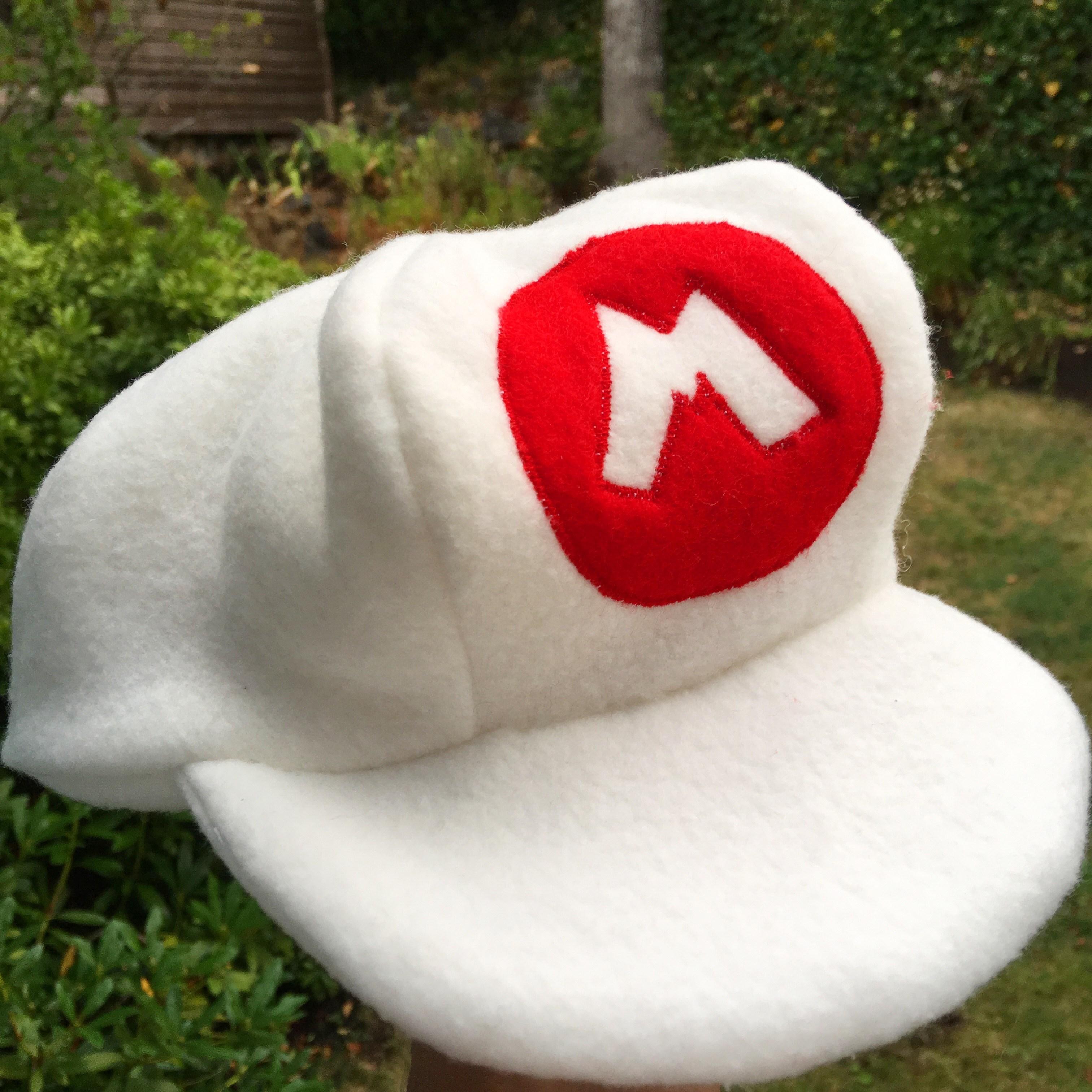Fire Mario hat & DIY Fire Mario Costume u2013 Baby Bonda Productions